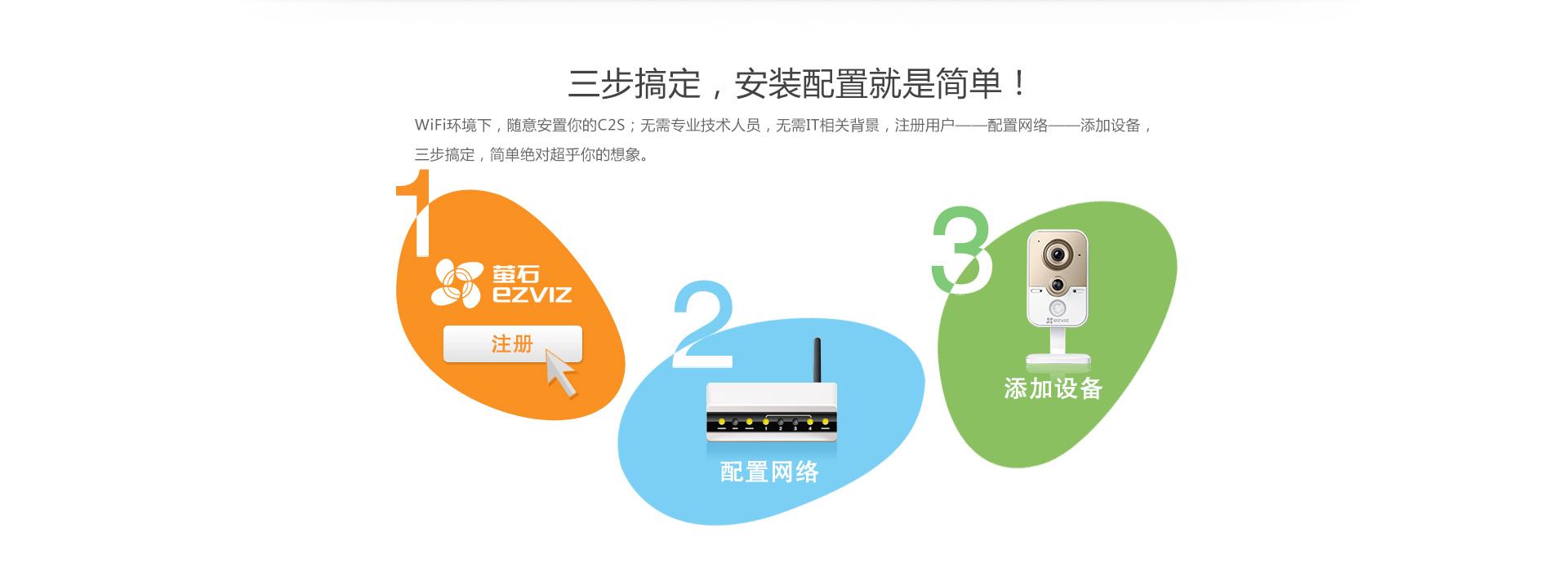 海康c2w萤石 网络摄像机