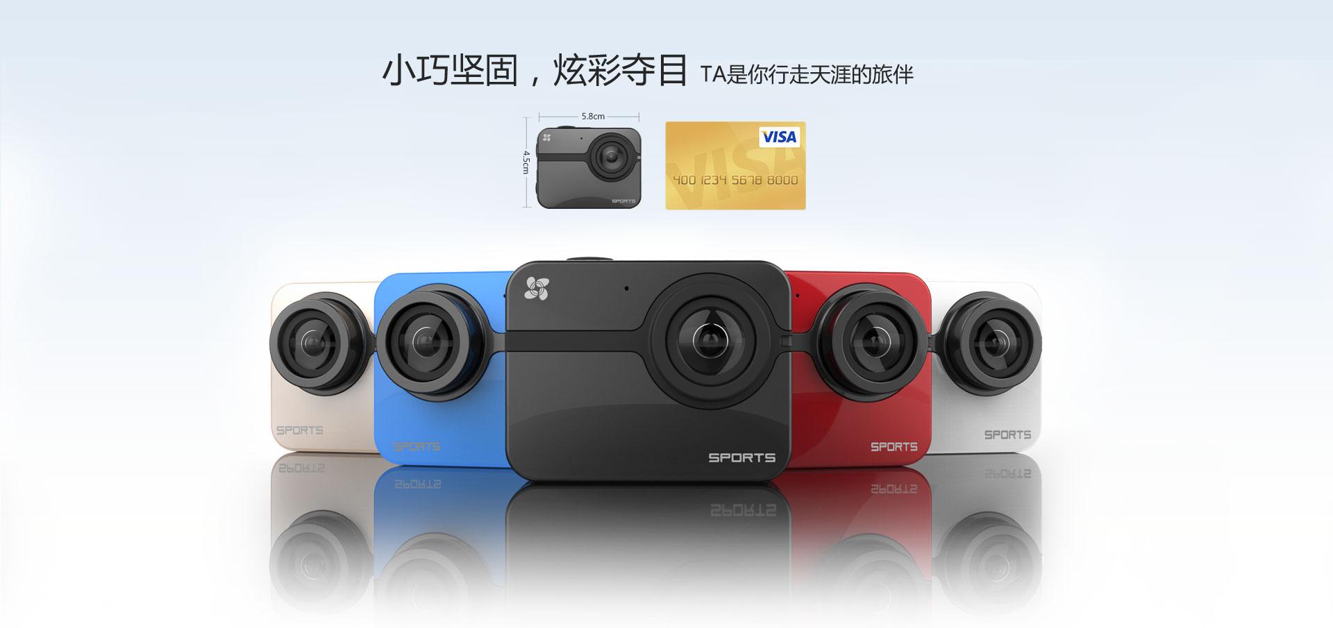 S1运动型摄像机 - 张新房 - 张新房的博客